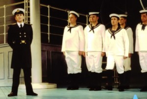 Captain Corcoran and the Chorus Sailors