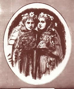 Emmie Owen and Florence Perry