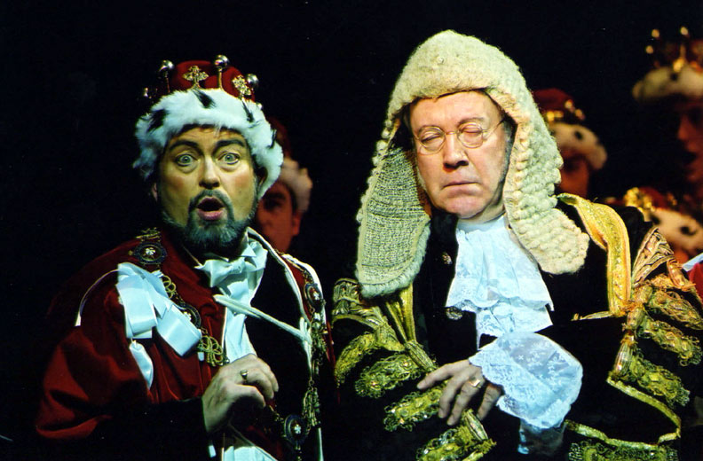The Lord Chancellor and Earl Tolloller